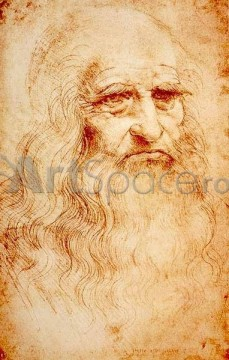 Autoportret - Leonardo da Vinci